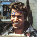 "Memorabilia:Miscellaneous, Henry Winkler Signed ""Fonzie Favorites"" LP Ahead 177602 Stereo(1976). Here's an odd little item, a signed copy of Henry Win..."