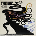 """Memorabilia:Miscellaneous, Signed """"The Wiz"""" Soundtrack LP Atlantic 18137 Stereo (1975). Sidney Lumet's """"The Wiz"""" was the film version of the popular Br..."""