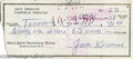"Hollywood Memorabilia:Autographs and Signed Items, Jack Kerouac Rare Personal Check. The writer of classics like ""Onthe Road"" and ""Dharma Bums,"" Jack Kerouac's nonconformist,..."