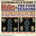 "Music Memorabilia:Recordings, ""The Beatles Vs. the Four Seasons"" LP Vee-Jay DX 30 Mono (1964)Wonderful copy of Vee-Jay's ultimate (at the time) Battle of..."