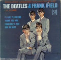 "Music Memorabilia:Recordings, ""The Beatles & Frank Ifield On Stage"" Portrait Cover LP Vee-Jay 1085 Mono (1964). Vee-Jay's last gasp at marketing the Mop T..."