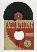 """Music Memorabilia:Recordings, Beatles """"Hard Day's Night/Things We Said Today"""" 78. No Beatles 78swere released in the U. S. or the U. K., but at least 13 ..."""