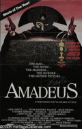 "Memorabilia:Miscellaneous, F. Murray Abraham Signed ""Amadeus"" Poster (1984). Two posterssigned by F. Murray Abraham for the movie ""Amadeus,"" a role th..."