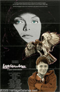 "Memorabilia:Miscellaneous, Matthew Broderick Signed ""Ladyhawke"" Poster (1985). An overlooked but charismatic fantasy film, ""Ladyhawke"" starred Matthew ..."
