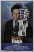"Hollywood Memorabilia:Autographs and Signed Items, Chevy Chase Signed ""Fletch"" Poster (1985). Of all the characters he's played, Chevy Chase is probably most identified with t..."