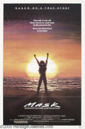 "Memorabilia:Miscellaneous, Cher Signed Poster. For Peter Bogdanovich's 1985 drama ""Mask."" With COA from PSA/DNA...."