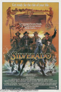 "Memorabilia:Miscellaneous, Kevin Costner and Danny Glover Signed Poster. The quintessential '80s western, Lawrence Kasdan's ""Silverado"" was intended to..."