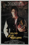 "Memorabilia:Miscellaneous, Tom Cruise Signed Movie Poster. Riding high from the success of hisfirst lead role in the comedy ""Risky Business,"" Tom Crui..."