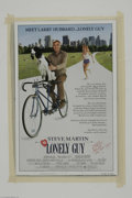 "Memorabilia:Miscellaneous, Robyn Douglass Signed Movie Poster. This lot features a movieposter for the Steve Martin comedy ""The Lonely Guy"" signed by ..."