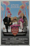 "Memorabilia:Miscellaneous, Richard Dreyfuss Signed Poster. Here is a poster for the '80scomedy ""Down and Out in Beverly Hills,"" about a wealthy busine..."