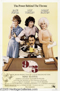 "Hollywood Memorabilia:Autographs and Signed Items, Jane Fonda Signed Poster. For the 1980 office comedy ""Nine toFive,"" which starred Fonda opposite Lily Tomlin and Dolly Part..."
