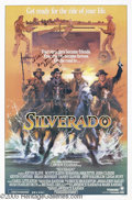 "Hollywood Memorabilia:Autographs and Signed Items, Danny Glover and Kevin Costner Signed Poster. For Lawrence Kasdan's1985 pulp western ""Silverado."" With COA from PSA/DNA. ..."