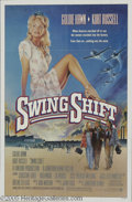 "Hollywood Memorabilia:Autographs and Signed Items, Goldie Hawn Autographed Movie Poster. Featured in this lot is aposter for Jonathan Demme's 1984 drama ""Swing Shift"" signed ..."