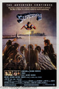 "Hollywood Memorabilia:Autographs and Signed Items, Margot Kidder Signed ""Superman II"" Poster. Arguably the best moviein the series, ""Superman II"" was certainly the most ambit..."