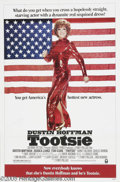 "Memorabilia:Miscellaneous, Jessica Lange Signed Poster. For the 1982 comedy ""Tootsie,"" forwhich Lange won an Oscar for Best Supporting Actress. With..."