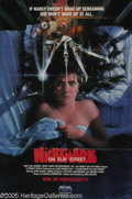 "Memorabilia:Miscellaneous, Heather Langenkamp Signed Poster. Although it arrived relativelylate to the slasher movie scene, ""A Nightmare on Elm Street..."