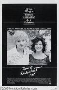 "Memorabilia:Miscellaneous, Shirley MacLaine Signed Poster. For the 1983 comedy-drama ""Terms ofEndearment."" With COA from PSA/DNA...."