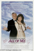 Hollywood Memorabilia:Autographs and Signed Items, Steve Martin and Lily Tomlin Signed Poster. Two of the biggest comedy stars of the '80s, Steve Martin and Lily Tomlin teamed...