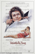 "Hollywood Memorabilia:Autographs and Signed Items, Dudley Moore Signed Poster. For the 1984 comedy ""Unfaithfully Yours,"" a remake of Preston Sturgess' comedy about a famous or..."