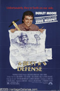 "Hollywood Memorabilia:Autographs and Signed Items, Dudley Moore Signed Movie Poster. Included in this lot is a posterfor the movie ""The Best Defense"" signed by Moore, who sta..."