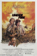 "Hollywood Memorabilia:Autographs and Signed Items, Nick Nolte Signed Poster. For the 1983 drama ""Under Fire,"" in whichNolte played a photojournalist covering civil war in Nic..."