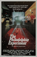 "Hollywood Memorabilia:Autographs and Signed Items, Michael Pare and Nancy Allen Signed Poster. A sci-fi adventuremovie based on a classic legend, ""The Philadelphia Experiment..."