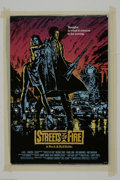 "Memorabilia:Miscellaneous, Michael Pare Signed Movie Poster. A poster from the movie ""Streets of Fire,"" signed by Pare. With COA from PSA/DNA...."