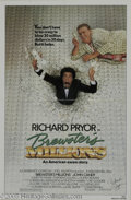 Memorabilia:Miscellaneous, Richard Pryor Signed Movie Poster. Richard Pryor starred as a minorleague baseball player who has to waste $30 million in 3...