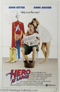 "Hollywood Memorabilia:Autographs and Signed Items, John Ritter Signed Poster. This lot features a poster for the movie""Hero at Large"" signed by late actor John Ritter, who pl..."