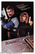 "Hollywood Memorabilia:Autographs and Signed Items, Tom Selleck Signed Poster. While it wasn't a great movie, the 1984sci-fi thriller ""Runaway"" bears the curious distinction o..."