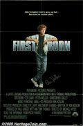 "Hollywood Memorabilia:Autographs and Signed Items, Peter Weller Signed Poster. Featured in this lot is a poster for the Michael Apted drama ""Firstborn"" (1984), signed by actor..."