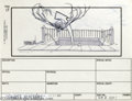 "Hollywood Memorabilia:Miscellaneous, ""Ghost Busters"" Storyboard Art. Here's something for '80s moviebuffs: a piece of storyboard art from the action-comedy ""Gho..."