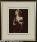 Hollywood Memorabilia:Photos, Marilyn Monroe Color Photograph (undated) Marilyn Monroe remains an unparalleled Hollywood icon of sensuous beauty. Marilyn ...