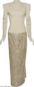"Hollywood Memorabilia:Costumes, Here's Looking At... Ingrid Bergman's Dress From ""Casablanca"" Lateraltered for Ida Lupino in the 1943 film ""The Hard Way."" ..."