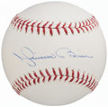 Autographs:Baseballs, Mariano Rivera Single Signed Baseball. ...