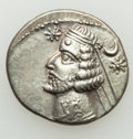 Ancients:Oriental, Ancients: PARTHIAN KINGDOM. Orodes II (57-38 BC). AR drachm (20mm, 4.04 gm, 1h). XF....