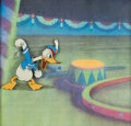Animation Art:Production Cel, Mickey's Circus Donald Duck Production Cel (Walt Disney,1936)....