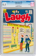 Silver Age (1956-1969):Humor, Laugh Comics #137 Bethlehem Pedigree (Archie, 1962) CGC VF+ 8.5 Cream to off-white pages....