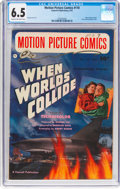 Golden Age (1938-1955):Science Fiction, Motion Picture Comics #110 (Fawcett Publications, 1952) CGC FN+ 6.5 Cream to off-white pages....