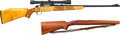Long Guns:Bolt Action, Remington Model 722 Bolt Action Rifle with Telescopic Sight....(Total: 2 Items)