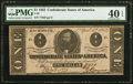 Confederate Notes:1863 Issues, T62 $1 1863 PF-1 State I Cr. 474 PMG Extremely Fine 40 EPQ.. ...