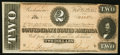 Confederate Notes:1864 Issues, T70 $2 1864 PF-5 Cr. 567 Very Fine-Extremely Fine.. ...