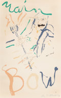 Prints & Multiples, Willem de Kooning (American, 1904-1997). Devil at the Keyboard, 1972. Lithograph in colors on paper. 35-3/8 x 24 inches ...