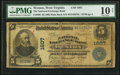 National Bank Notes:West Virginia, Weston, WV - $5 1902 Plain Back Fr. 599 The National Exchange BankCh. # 1607 PMG Very Good 10 Net.. ...