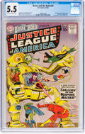 Silver Age (1956-1969):Superhero, The Brave and the Bold #29 Justice League of America (DC, 1960) CGCFN- 5.5 Off-white to white pages....