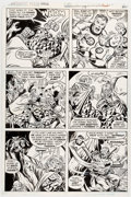 Original Comic Art:Panel Pages, Sal Buscema and Joe Sinnott Fantastic Four Annual #13 Story Page 32 Original Art (Marvel, 1978)....