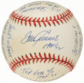 Autographs:Baseballs, Tom Seaver Single Signed Stat Baseball with 17 Inscriptions, Limited Edition 0235/1000. ...