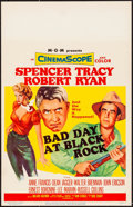 "Bad Day at Black Rock (MGM, 1955). Window Card (14"" X 22""). Thriller"