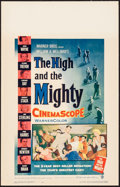 """Movie Posters:Adventure, The High and the Mighty (Warner Brothers, 1954). Window Card (14"""" X22""""). Adventure.. ..."""
