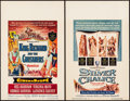 """Movie Posters:Adventure, King Richard and the Crusaders & Other Lot (Warner Brothers, 1954). Window Cards (2) (14"""" X 22""""). Adventure.. ... (Total: 2 Items)"""